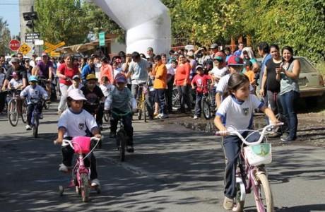 Maratón y cicletada familiar en Santa Fe reunió a un centenar de familias
