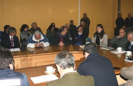 Mesa Público Privada Laja-Diguillín reunió en San Ignacio a autoridades nacionales y regionales