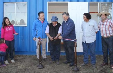 Alcalde angelino encabezó entrega de nueva infraestructura a Club de Fútbol Rural Deportivo O´Higgins de Santa Fe