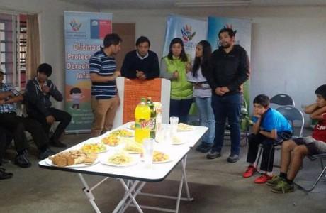 Con jornada socioeducativa, inician importante trabajo multisectorial con niños y jóvenes de Población Escritores de Chile