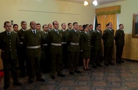 Ceremonia de ascenso del personal de Plana Mayor de Prefectura Bío Bío y Primera Comisaria Los Ángeles
