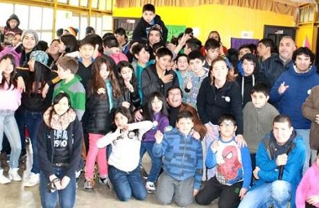 Medio centenar de niños se entretienen en campamentos recreativos de Junaeb en la región