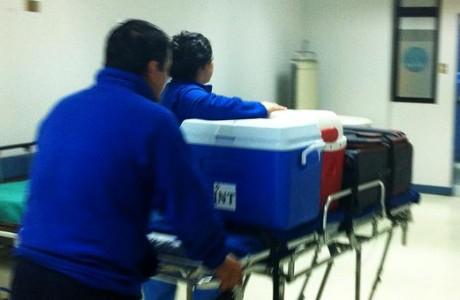 Exitoso procuramiento múltiple de órganos se realizó en el Hospital de Los Ángeles