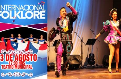 Día Internacional del Folklore tendrá gala artística en el Teatro Municipal de Los Ángeles
