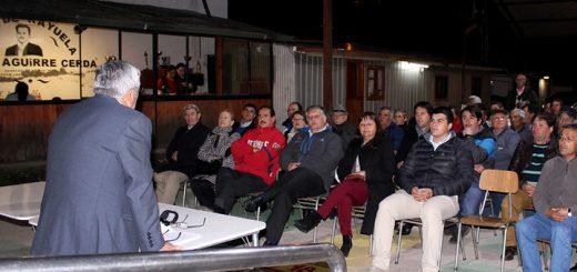 Club de Rayuela Pedro Aguirre Cerda inauguró renovadas canchas y luminarias de su centro deportivo