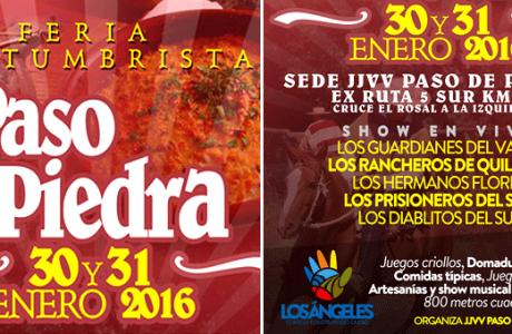 Feria Costumbrista Paso de Piedra promete encantar a miles de visitantes este fin de semana