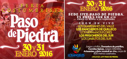 Feria Costumbrista Paso de Piedra / Los Ángeles