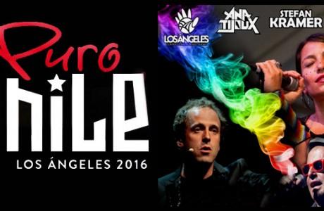 """Ana Tijoux, Stefan Kramer y Chico Trujillo estarán en """"Puro Chile"""" Los Ángeles 2016"""