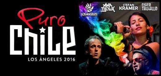Puro Chile Los Ángeles 2016 / Ana Tijoux / Stefan Kramer / Chico Trujillo