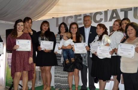 161 alumnos del Programa Nivelación de Estudios se licenciaron de cuarto medio