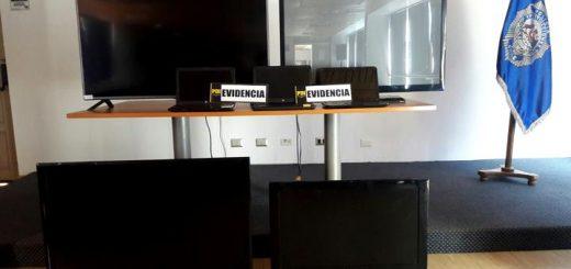 PDI Los Ángeles incauta notebook y televisores de última generación en procedimiento antidrogas