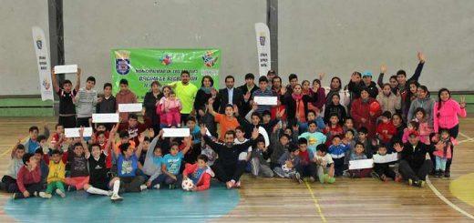 """primer torneo de mini fútbol infantil """"Copa Aniversario de Los Ángeles"""""""