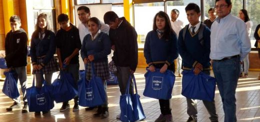 ENDESA Chile entrega becas a más de 400 jóvenes pehuenches de Santa Bárvara y Alto Biobío