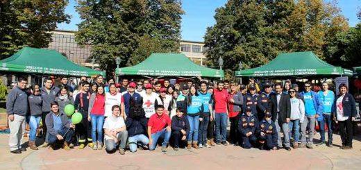 Decenas de Jóvenes dieron vida a la primera Feria del Voluntariado Juvenil de Los Ángeles