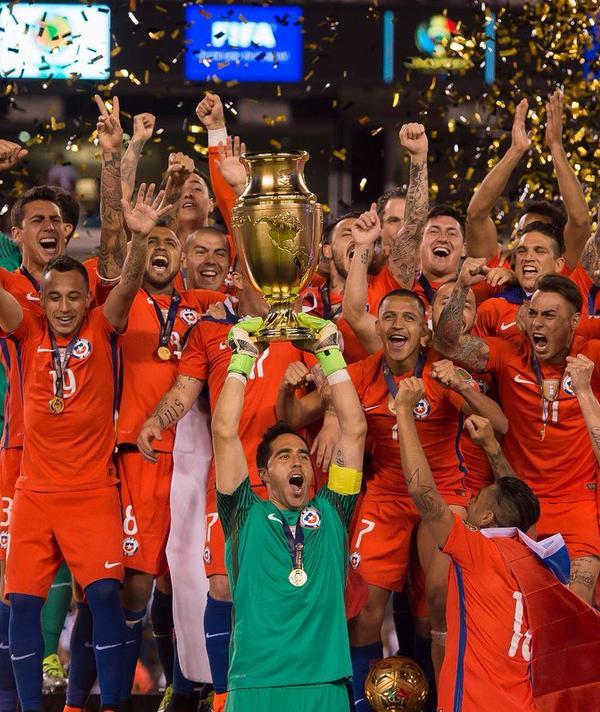CHILE CAMPEÓN / Copa Centenario USA 2016