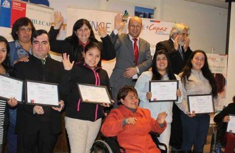 SENCE Biobío fomenta inclusión laboral capacitando a personas en situación de discapacidad