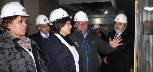 Ministra de Salud visita Obras de SAR Norte de Los Ángeles