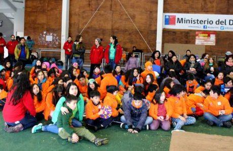 Unos 500 niños participaron de programas recreativos de invierno