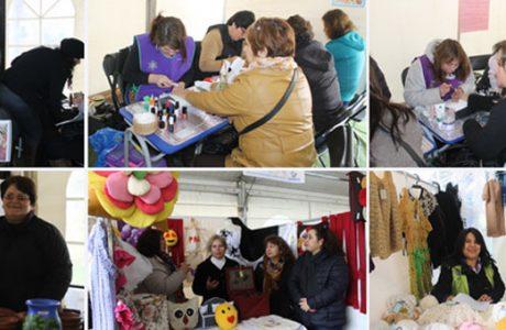 Todo un éxito resultó la 2º Feria del Centro Integral de la Mujer