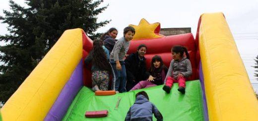 Niños y niñas de Chacayal celebraron su Día junto al equipo OPD