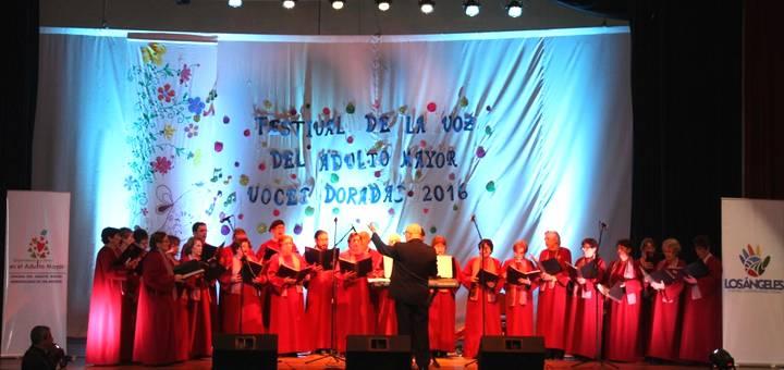 "Adultos mayores desbordaron talento en 4ta versión de Festival ""Voces Doradas"""