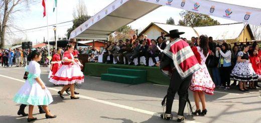 Comunidad de Paillihue disfrutó un nuevo desfile patrio en su sector