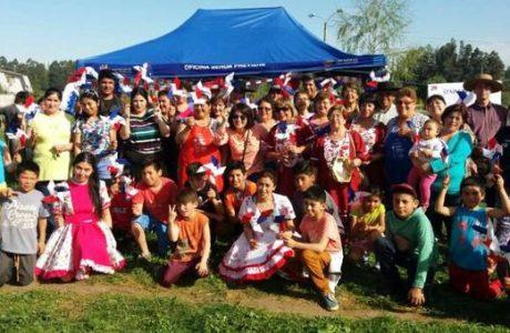 """Vecinos de Villa Los Profesores junto al equipo SENDA Previene """"Zapatearon por la Prevención"""""""