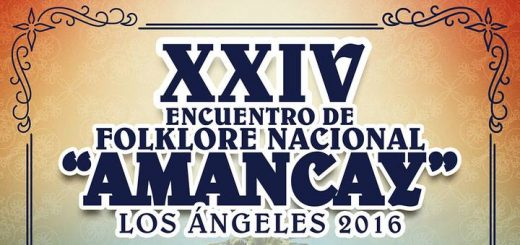 Los Ángeles se viste de gala para albergar XXIV Encuentro de Folklore Nacional Amancay
