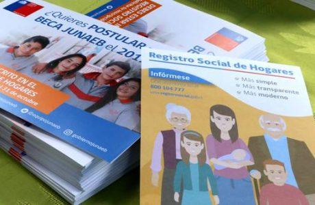 Hasta el 31 de octubre estudiantes podrán inscribirse en Registro Social de Hogares y postular a becas Junaeb