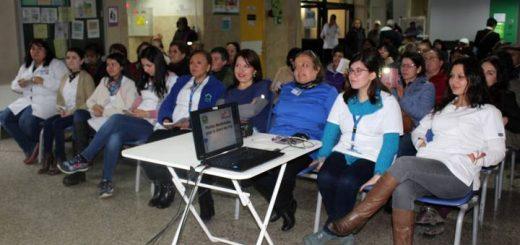 CESFAM Norte festejó con exposiciones y zumbatón la Semana de la Salud Mental