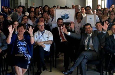 Superintendencia de Salud entrega certificado y placa de acreditación al Complejo Asistencial Dr. Víctor Ríos Ruiz de Los Ángeles