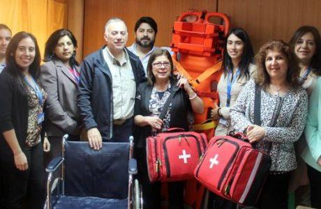 Comité paritario de la Dirección de Salud recibe implementación para seguridad