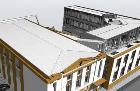 Avanza proyecto de remodelación de Casa de la Cultura de Los Ángeles