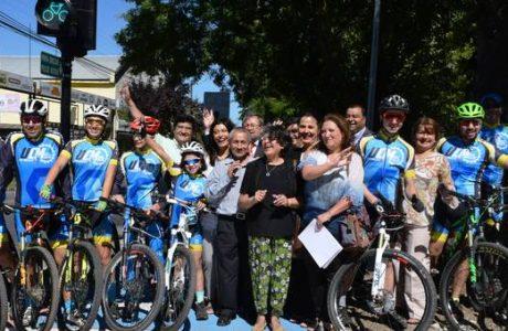 Los Ángeles cuenta con nuevos kilómetros de ciclovías