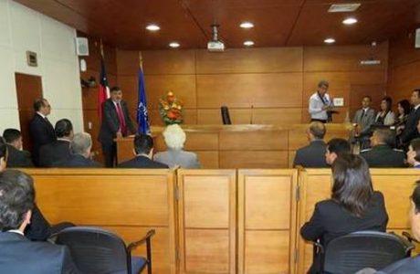 TOP de Los Ángeles recibe premio, inaugura piloto de lectura de sentencias por videoconferencia y jura nueva jueza titular
