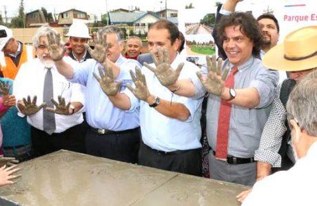 Inician la construcción del nuevo Parque Urbano en Estero Quilque