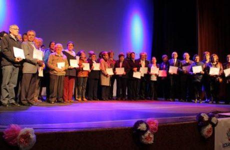 Más de 50 adultos mayores fueron certificados como líderes comunitarios