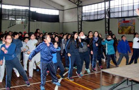 Con evento masivo de actividad física promocionan exitoso Programa Vida Sana