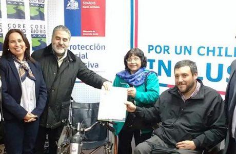 Aprueban más de 736 millones para ayudas técnicas de personas en situación de discapacidad, serán más de 200 beneficiados en Biobío